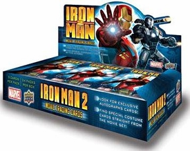 Upper Deck Iron Man 2 Movie Trading Cards Box [24 Packs]