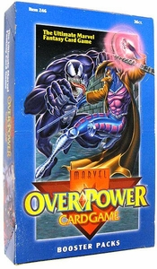 Overpower Trading Card Game Marvel Base Set Booster Box [36 Packs]