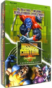 Overpower Trading Card Game Marvel Mission Control Booster Box [36 Packs]