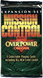 Overpower Trading Card Game Marvel Mission Control Booster Pack [9 Cards]