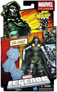 Marvel Legends 2012 Series 3 Action Figure Dr. Doom [Classic Suit - Green Tunic]