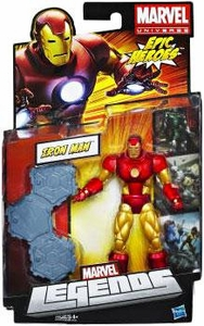 Marvel Legends 2012 Series 3 Action Figure Iron Man [Neo Classic]