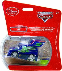 Disney Pixar Cars Exclusive 1:48 Die Cast Car DJ