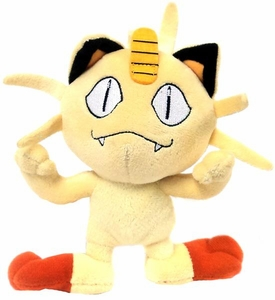 Pokemon Jakks Diamond & Pearl Series 2 Mini Plush Figure Meowth