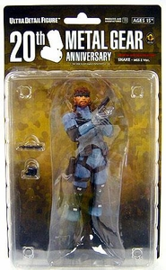 Metal Gear Solid Medicom 7 Inch Series 1 Collectible Figure Snake [MGS2]