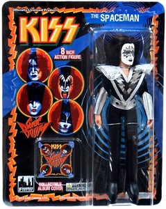 KISS Retro 8 Inch Poseable Action Figure Series 3 Spaceman