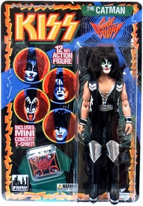 KISS Retro 12 Inch Poseable Action Figure Series 3 Catman