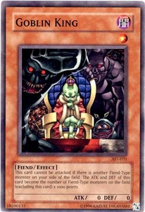 YuGiOh Ancient Sanctuary Single Card Common AST-031 Goblin King