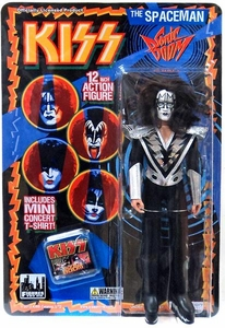 KISS Retro 12 Inch Poseable Action Figure Series 3 Spaceman