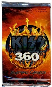 2009 Press Pass KISS Trading Cards 360 Degrees Trading Cards Pack