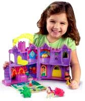 Dora the Explorer Let's Go Adventure Playset Fairytale Castle
