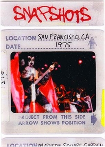2009 Press Pass KISS Trading Cards 360 Degrees Snapshots 4 / 12 San Francisco, CA 1975