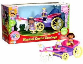 Dora the Explorer Adventure Playset Dora's Musical Carriage