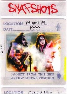 2009 Press Pass KISS Trading Cards 360 Degrees Snapshots 9 / 12 Miami, FL1999