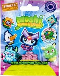 Moshi Monsters Moshlings Series 5 Mini Figure 2-Pack [Includes 1 Virtual Prize Code!]