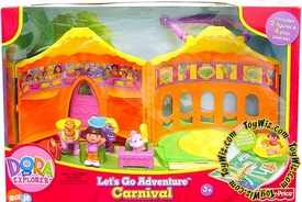 Dora the Explorer Let's Go Adventure Playset Carnival