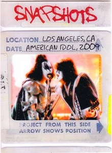 2009 Press Pass KISS Trading Cards 360 Degrees Snapshots 12 / 12 Los Angeles, CA American Idol 2009
