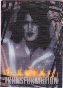 2009 Press Pass KISS Trading Cards 360 Degrees Transformation 5 / 6 Tommy Thayer To Spaceman