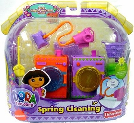 Dora Magical Welcome House Furniture Set Spring Cleaning