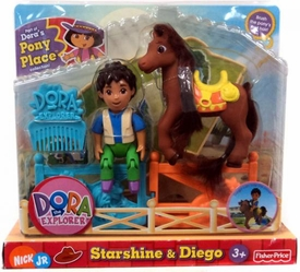 Dora the Explorer Pony Palace Collection Starshine & Diego