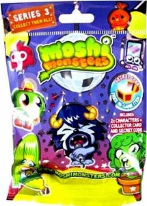 Moshi Monsters Moshlings Series 3 Mini Figure 2-Pack [Includes 1 Virtual Prize Code!]