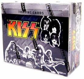 Press Pass KISS Trading Cards Ikons Booster BOX [24 Packs]