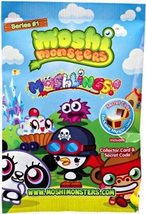 Moshi Monsters Moshlings Series 1 Mini Figure 2-Pack [Includes 1 Virtual Prize Code!]