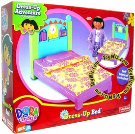 Dora the Explorer Dora's Dress Up Bed