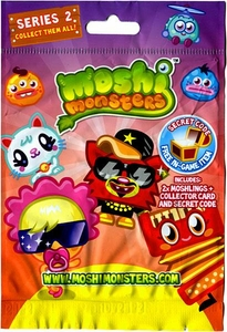 Moshi Monsters Moshlings Series 2 Mini Figure 2-Pack [Includes 1 Virtual Prize Code!]
