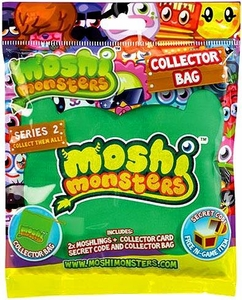 Moshi Monsters Moshlings Series 2 Mini Figure with Collector Bag 2-Pack [Includes 1 Virtual Prize Code!]
