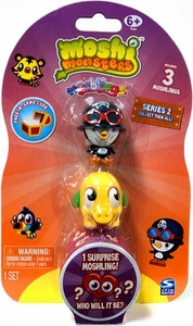 Moshi Monsters Moshlings Series 2 Mini Figure 3-Pack [Includes 1 Virtual Prize Code!]
