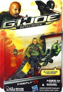 GI Joe Retaliation Movie 3.75 Inch Action Figure Firefly BLOWOUT SALE!