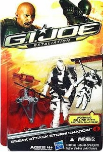 GI Joe Retaliation Movie 3.75 Inch Action Figure Sneak Attack Storm Shadow