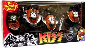 Mr. Potato Head Collector 4 Piece Set KISS