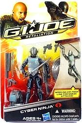 GI Joe Retaliation Movie 3.75 Inch Action Figure Cyber Ninja