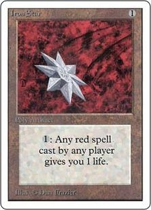 Magic the Gathering Unlimited Edition Single Card Uncommon Iron Star