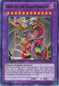 YuGiOh GX Legendary Collection 2 Single Card Ultra Rare LCGX-EN211 Armityle the Chaos Phantom