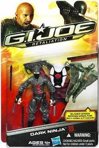 GI Joe Retaliation Movie 3.75 Inch Action Figure Dark Ninja
