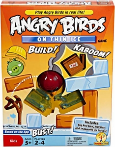 Mattel Angry Birds Board Game On Thin Ice