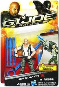 GI Joe Retaliation Movie 3.75 Inch Action Figure Joe Colton [Bruce Willis!]
