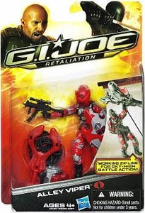 GI Joe Retaliation Movie 3.75 Inch Action Figure Alley Viper