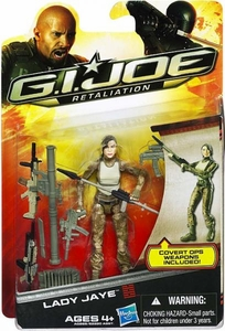 GI Joe Retaliation Movie 3.75 Inch Action Figure Lady Jaye