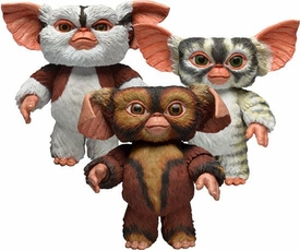 NECA Gremlins Mogwais Series 4 Set of 3 Action Figures [Brownie, Doodah & Penny] New!