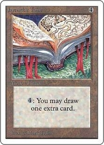 Magic the Gathering Unlimited Edition Single Card Rare Jayemdae Tome