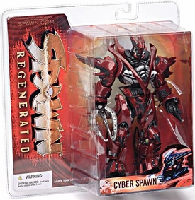 McFarlane Toys Spawn Series 28 Regenerated Action Figure Cyber Spawn
