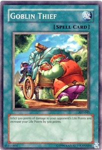 YuGiOh Ancient Sanctuary Single Card Common AST-045 Goblin Thief