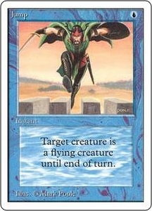 Magic the Gathering Unlimited Edition Single Card Common Jump