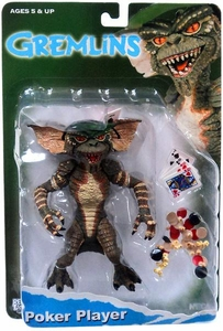 NECA Gremlins 6 Inch Deluxe Action Figure Poker Player