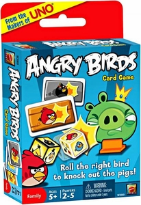 Mattel Angry Birds Card Game [From the Makers of UNO!]