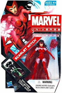Marvel Universe 3 3/4 Inch Series 19 Action Figure #16 Scarlet Witch